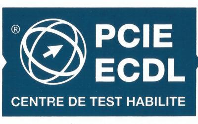 Centre de test habilité PCIE